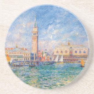 The Doge's Palace, Venice by Renoir Coaster