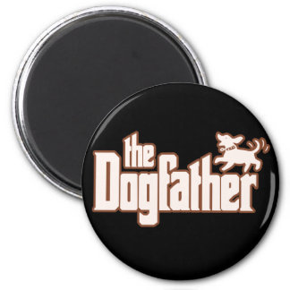 The Dogfather for Dog Owners Refrigerator Magnet