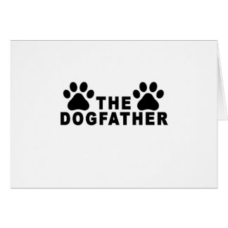 the dogfather T-Shirts.png Greeting Card
