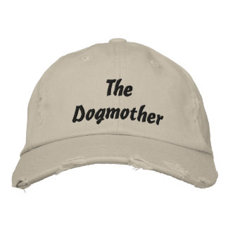 The Dogmother Embroidered Baseball Caps