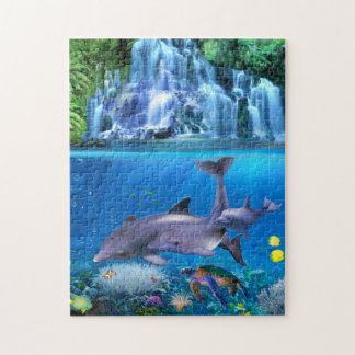 The Dolphin Family Jigsaw Puzzle