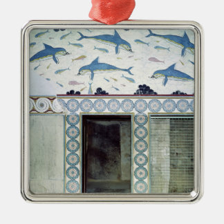 The Dolphin Frescoes in the Queen's Bathroom Christmas Ornament