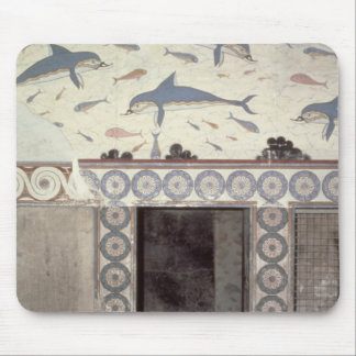The Dolphin Frescoes in the Queen's Bathroom Mouse Mat