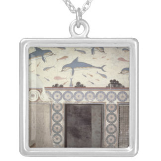 The Dolphin Frescoes in the Queen's Bathroom Custom Jewelry