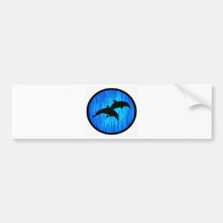 THE DOLPHIN MIST BUMPER STICKER