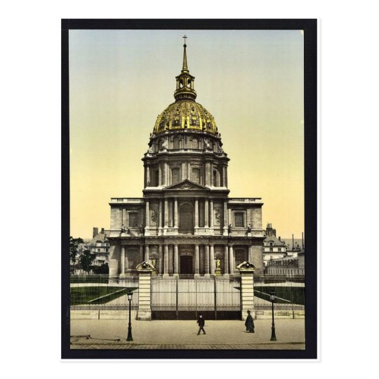 The Dome des Invalides, Paris, France vintage Phot