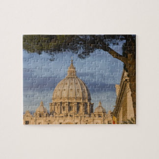the dome of Saint Peter's Basilica, Vatican, Jigsaw Puzzle