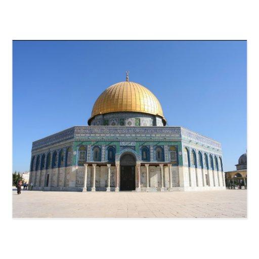 The Dome of the Rock , Al Aqsa, Jerusalem Postcards