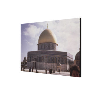 The Dome of the Rock, built AD 692 Stretched Canvas Print