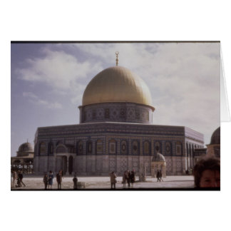 The Dome of the Rock, built AD 692 Cards