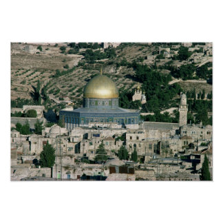 The Dome of the Rock, built AD 692 Posters