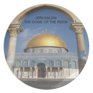 The Dome of the Rock Party Plate