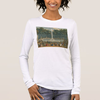 The Domes in the Garden at Versailles, pub. by Lau Long Sleeve T-Shirt