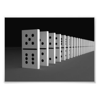 The domino effect photograph