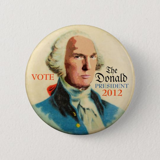 The Donald 2012 button