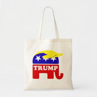 The Donald Trump Toupee Republican Elephant