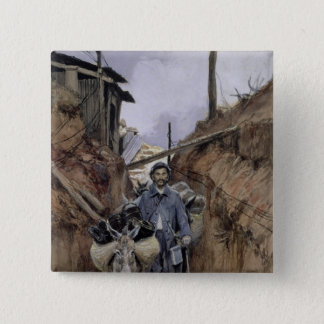 The Donkey, Somme, 1916 15 Cm Square Badge