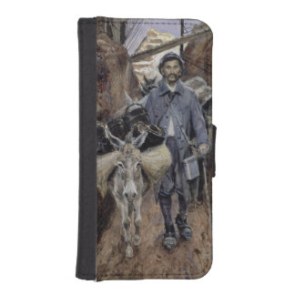 The Donkey, Somme, 1916 iPhone SE/5/5s Wallet Case