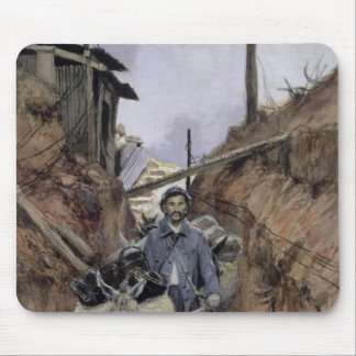 The Donkey, Somme, 1916 Mouse Mat