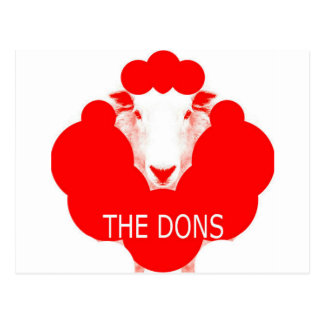 THE DONS POSTCARD