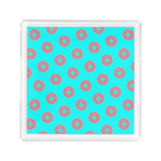 The Donut Pattern I Acrylic Tray