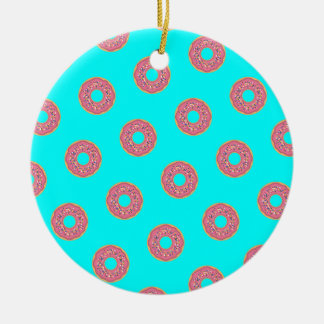 The Donut Pattern I Christmas Ornament
