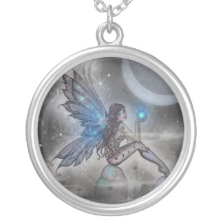 The Doodler Fairy Necklace by Molly Harrison