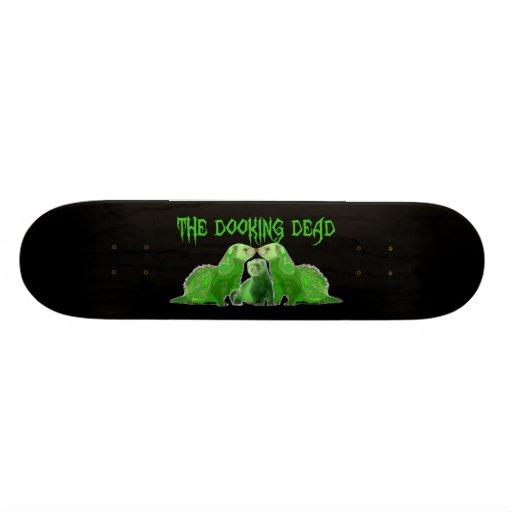 the dooking dead skateboard deck