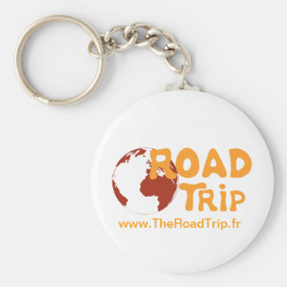 The door clées by The Road Trip Basic Round Button Key Ring