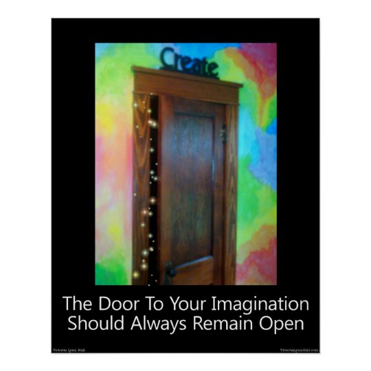 """The Door To Your Imagination"" Print"