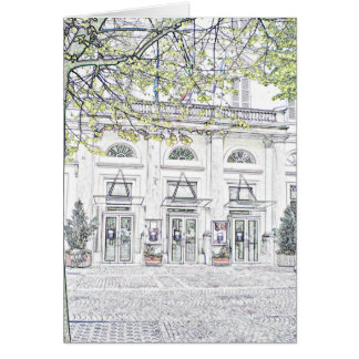 The doors open at 7.00 card