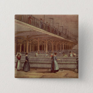 The Doubling Room, Dean Mills, 1851 15 Cm Square Badge