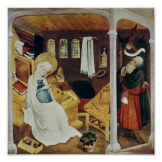 The Doubt of St. Joseph, c.1410-20 Poster