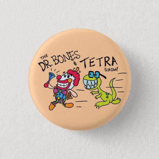 The Dr.Bones & Tetra Show Logo Pin