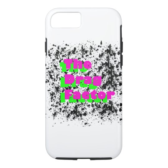 The Drag Factor iphone case