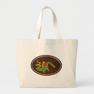 The Dragon 2009 Large Tote Bag