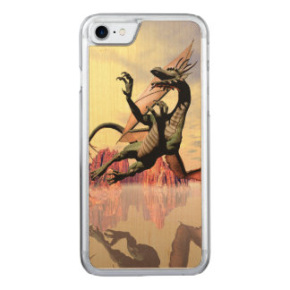 The dragon carved iPhone 8/7 case