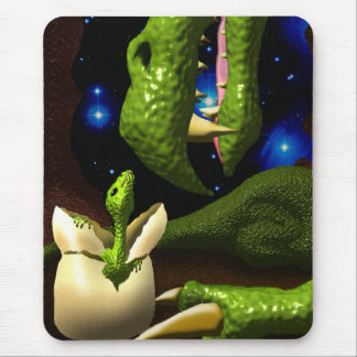 The Dragon Hatchling Mouse Pad