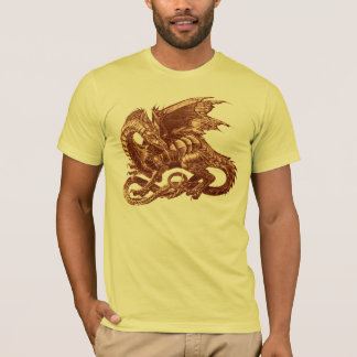 The dragon observes - T-Shirt