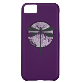 The Dragonfly in purple iphone 5 iPhone 5C Case