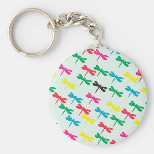 The dragonfly key chain
