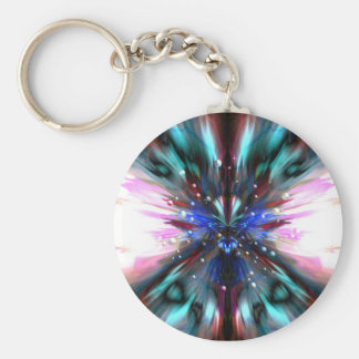 The Dragonfly Waltz Basic Round Button Key Ring