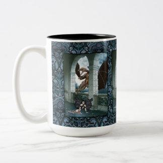 The Dragon's Lair Two-Tone Coffee Mug