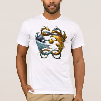 The dragons play balloon - T-Shirt