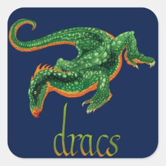 The Dragoon Square Sticker