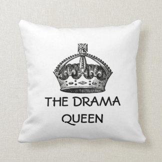 The Drama Queen Throw Pillow