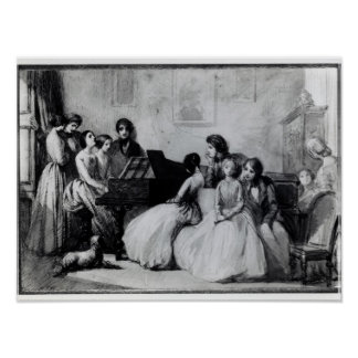 The Drawing Room Concert Poster