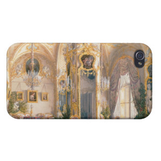 The Drawing Room in Rococo II Style with Cupids iPhone 4 Case