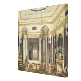 The Drawing Room of the Empress Maria Canvas Print