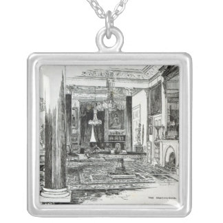 The Drawing Room, Osborne House Silver Plated Necklace